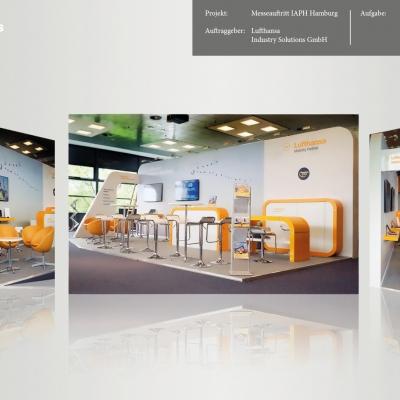 Lufthansa Industry Solutions GmbH, Messeauftritt IAPH Hamburg