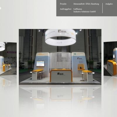 Lufthansa Industry Solutions GmbH, Messeauftritt  IFRA Hamburg