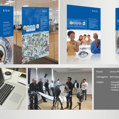 BSH Hausgeräte GmbH, Interne Plakat-Kampagne