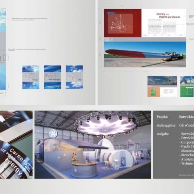 GE Windenergy, Entwicklung des Unternehmensauftritt