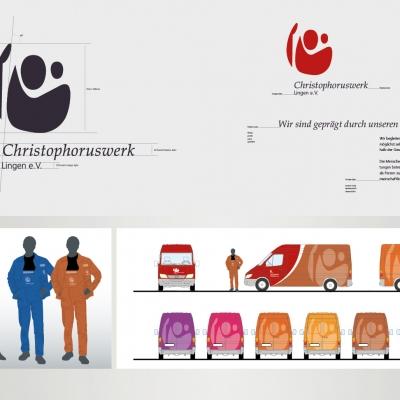 Christophoruswerk Lingen, Entwicklung des Erscheinungsbildes, CD / CI