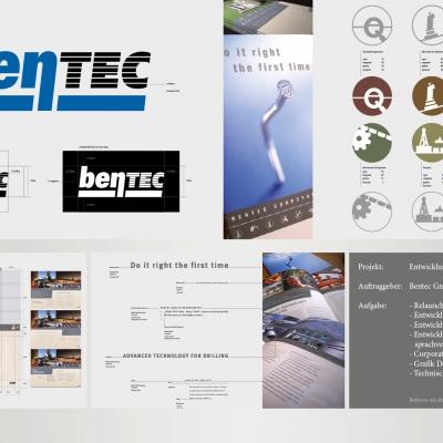 Bentec, Entwicklung des Corporate Design