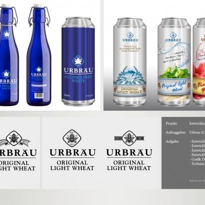 Urbräu China, Markenentwicklung und Packaging