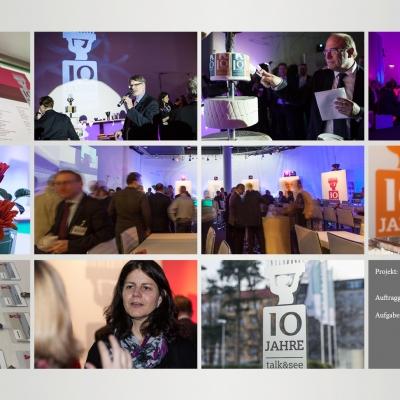 Siemens Jubiläumsveranstaltung – 10 Jahre Talk & See