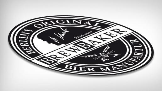 BREWbaker - logoentwicklung
