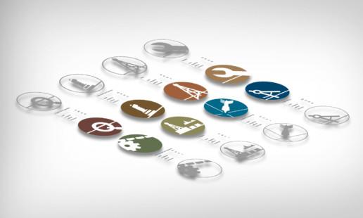 bentec - icondesign und unternehmensfarben